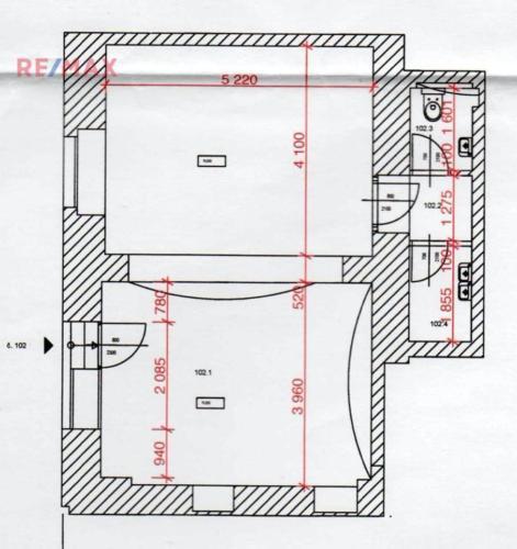 Prodej obchodních prostor 56 m², Praha 3 - Žižkov