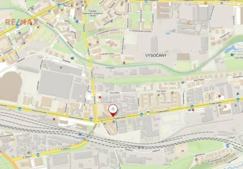 Prodej pozemku 2503 m², Praha 9 - Vysočany